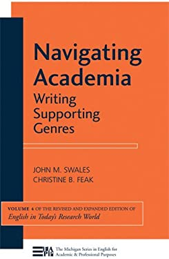 Navigating Academia: Writing Supporting Genres 9780472034536