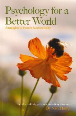 Psychology for a Better World 9780473193041