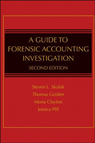 A Guide to Forensic Accounting Investigation 9780470599075