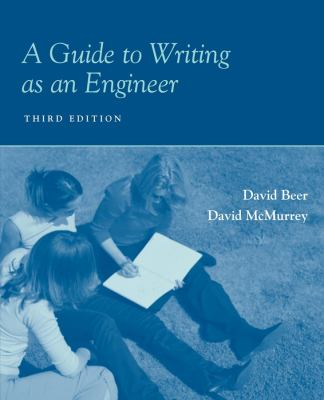 A Guide to Writing as an Engineer 9780470417010