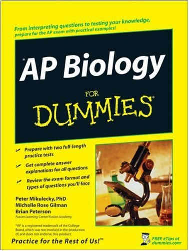 AP Biology for Dummies 9780470224878