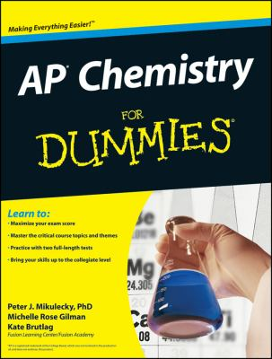 AP Chemistry for Dummies 9780470389768