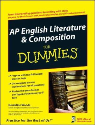 AP English Literature & Composition for Dummies 9780470194256