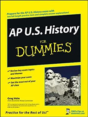 AP U.S. History for Dummies 9780470247587