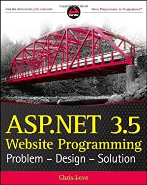 Image of ASP.Net 3.5 Website Programming: Problem - Design - Solution