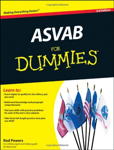 ASVAB for Dummies 9780470637609