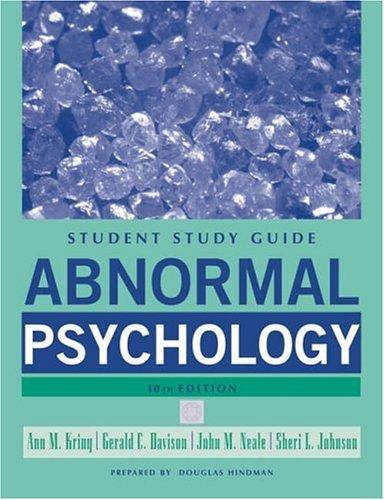 Abnormal Psychology 9780471742975