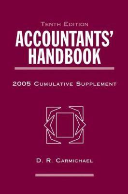 Accountants' Handbook, 2005 Cumulative Supplement 9780471679868