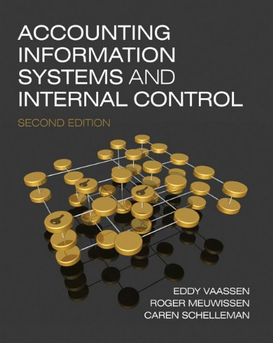 Accounting Information Systems and Internal Control 9780470753958
