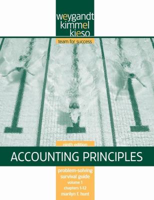 Accounting Principles: Problem-Solving Survival Guide, Volume 1, Chapters 1-12 9780470386606