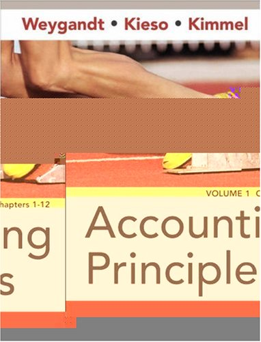Accounting Principles, Chapters 1-12 9780470081969