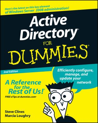 Active Directory for Dummies 9780470287200