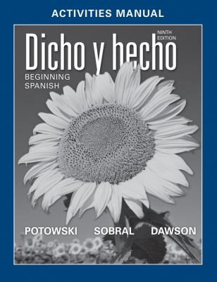 Activities Manual T/A Dicho y Hecho: Beginning Spanish 9780470907023