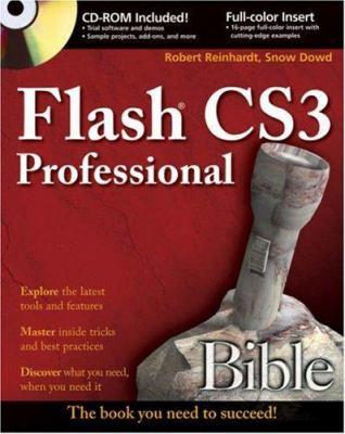 Adobe Flash CS3 Professional Bible [With CDROM] 9780470119372