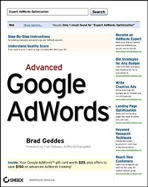 Advanced Google AdWords 9780470500231