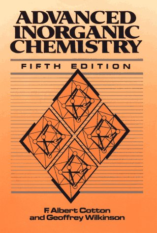 Advanced Inorganic Chemistry - 5th Edition