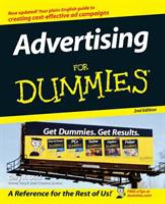 Advertising for Dummies 9780470045831