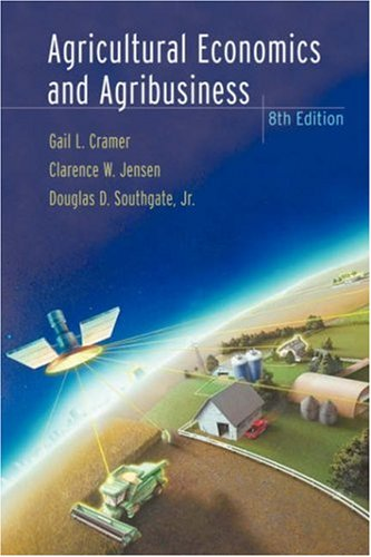 Agricultural Economics and Agribusiness 9780471388470