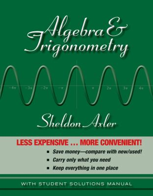 Algebra & Trigonometry 9780470470824