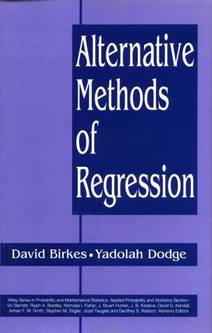 Alternative Methods of Regression 9780471568810