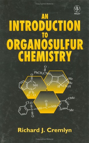 An Introduction to Organosulfur Chemistry R. J. Cremlyn