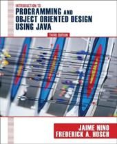 An Introduction to Programming and Object-Oriented Design Using Java 1508602