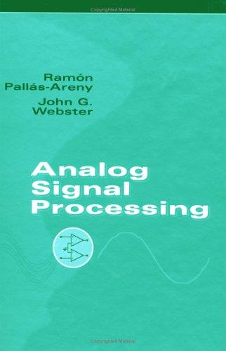 Analog Signal Processing 9780471125280