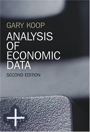 Analysis of Economic Data 9780470024683