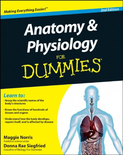Anatomy & Physiology for Dummies 9780470923269