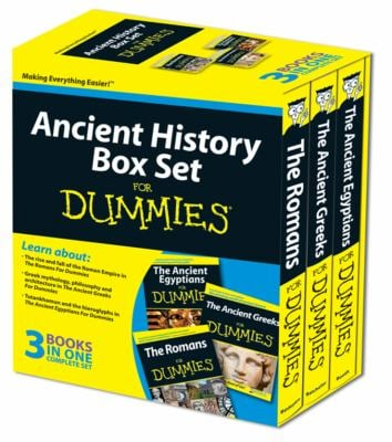 Ancient History Box Set for Dummies 9780470745311