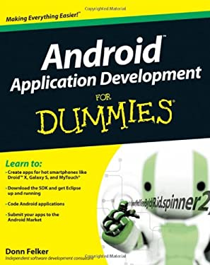 Android Application Development for Dummies 9780470770184