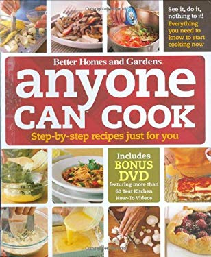 Anyone Can Cook: Step-By-Step Recipes Just for You [With DVD] 9780470500675