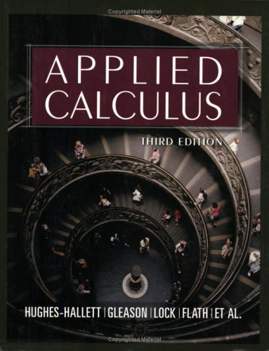 Applied Calculus 9780471681212