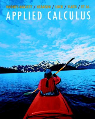 Applied Calculus for Business, Life, and Social Sciences 9780471108764