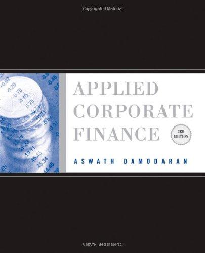 Applied Corporate Finance 9780470384640