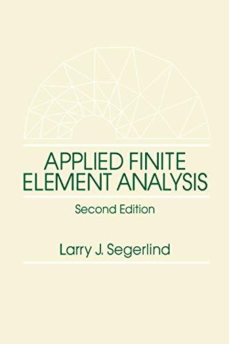 Applied Finite Element Analysis 9780471806622