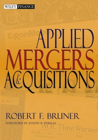 Applied Mergers and Acquisitions 9780471395058