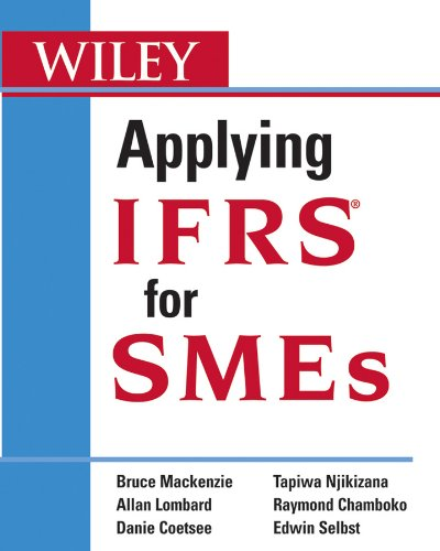 Applying IFRS for SMEs 9780470603376