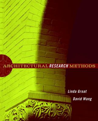 Architectural Research Methods 9780471333654