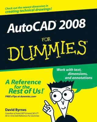 AutoCAD 2008 for Dummies 9780470116500