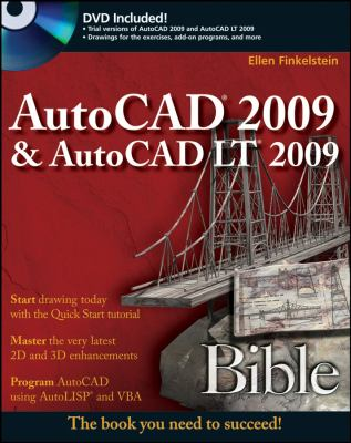 AutoCAD 2009 & AutoCAD LT 2009 Bible [With DVD] 9780470260173