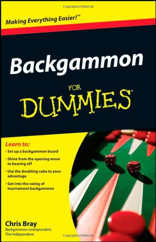 Backgammon for Dummies 9780470770856