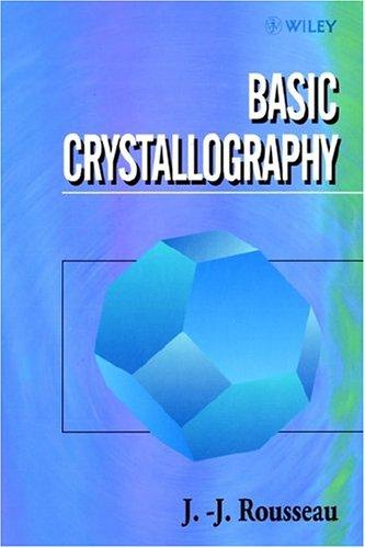 Basic Crystallography 9780471970491