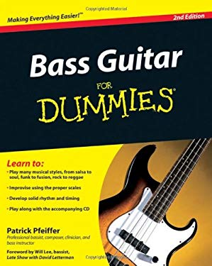 Bass Guitar for Dummies [With CD (Audio)] 9780470539613