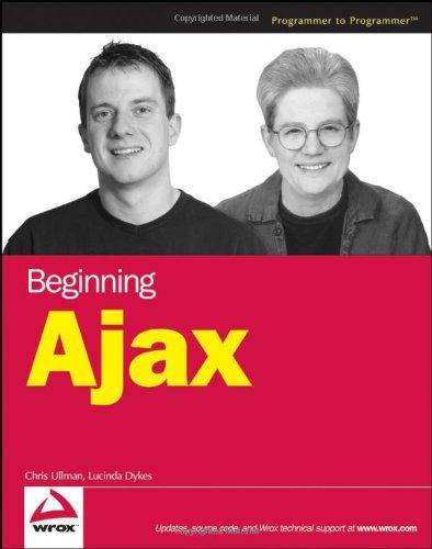 Beginning Ajax 9780470106754