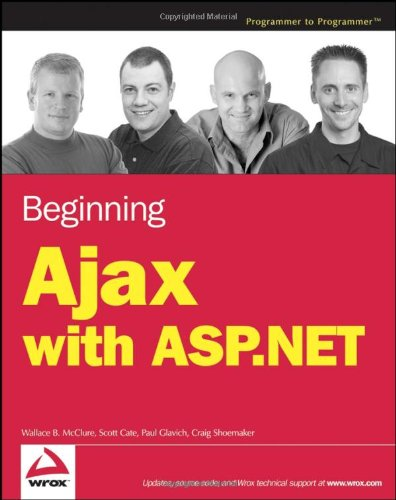 Beginning Ajax with ASP.NET 9780471785446