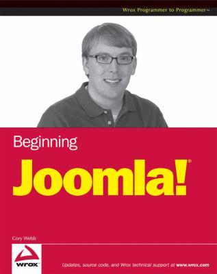 Beginning Joomla! Web Site Development 9780470438534