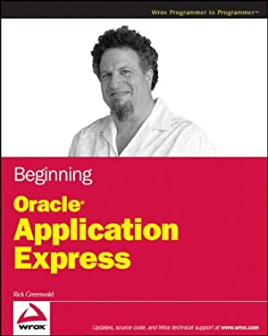 Beginning Oracle Application Express 9780470388372