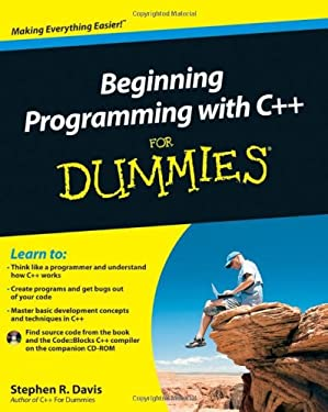 Beginning Programming with C++ for Dummies [With CDROM] 9780470617977