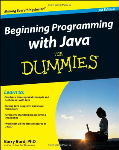 Beginning Programming with Java for Dummies 9780470371749